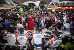 Команда BP Ford Abu Dhabi World Rally