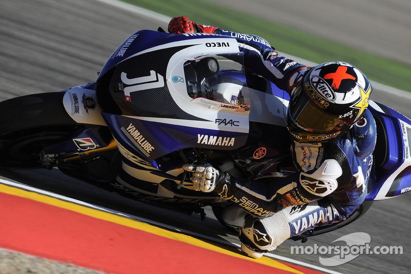 Jorge Lorenzo cambió en 2011 el 99 por el 1 en su Yamaha