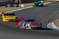 #44 Porsche 911 GT3 RSR: Seth Neiman, Marco Holzer