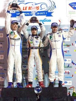 PC podium: class winners Ken Dobson, Henri Richard and Ryan Lewis
