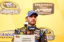 Post-race press conference: race winner Jimmie Johnson, Hendrick Motorsports Chevrolet