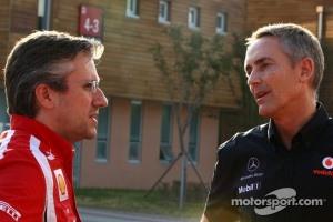 Pat Fry, Scuderia Ferrari and Martin Whitmarsh, Team McLaren