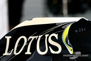 Lotus has a braking ride-height correction system for 2012