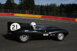 #21 Jaguar D-type: Гері Пірсон, Джон Пірсон