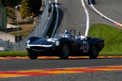 #12 Tojeiro Jaguar: Eric Mestdagh, Eric Jamar