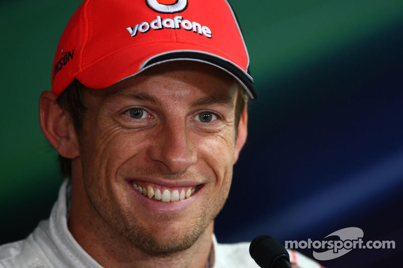 Post-qualifying interview: Jenson Button, McLaren Mercedes