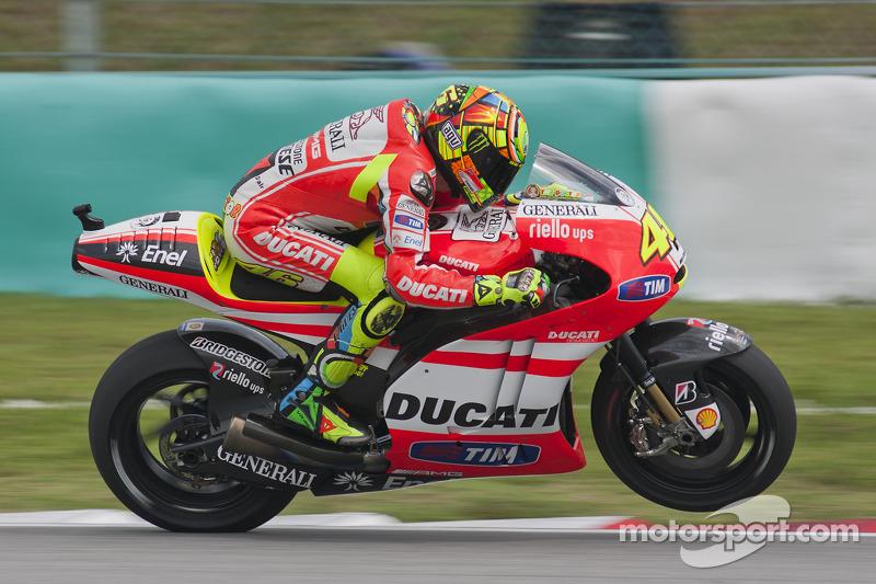 Valentino Rossi, Ducati Marlboro Team 2011
