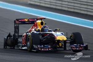 A suddenly deflating tyre forced Vettel out of contention