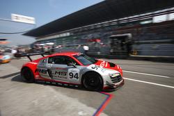 #94 Hitotsuyama Racing Audi R8 LMS: Akihiro Tsuzuki, Michael Kim, Carlo Van Dam