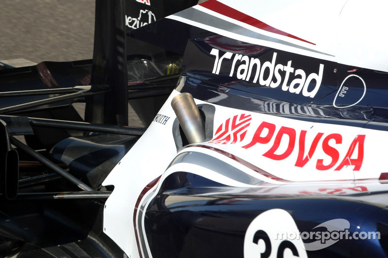 Williams F1 Team, Technical detail exhaust system
