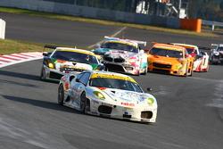 #27 PACIFIC NAC IKAMUSUME Ferrari: Hideki Yamauchi
