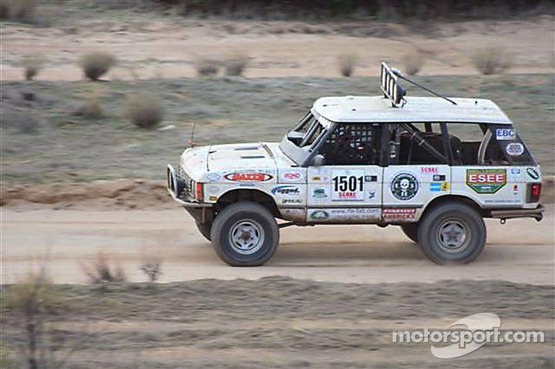 Elias Christeas In A Stock Range Rover At Baja - Range rover stock