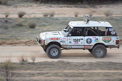 Elias Christeas in a stock Range Rover