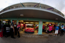 Garage area ambiance