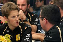 Romain Grosjean, Team Principal, Lotus Renault GP