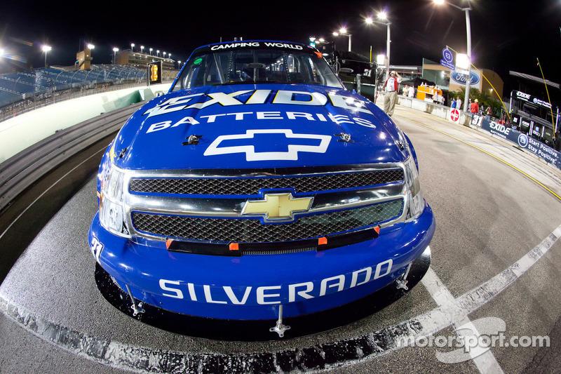 Truck of James Buescher, Turner Motorsport Chevrolet