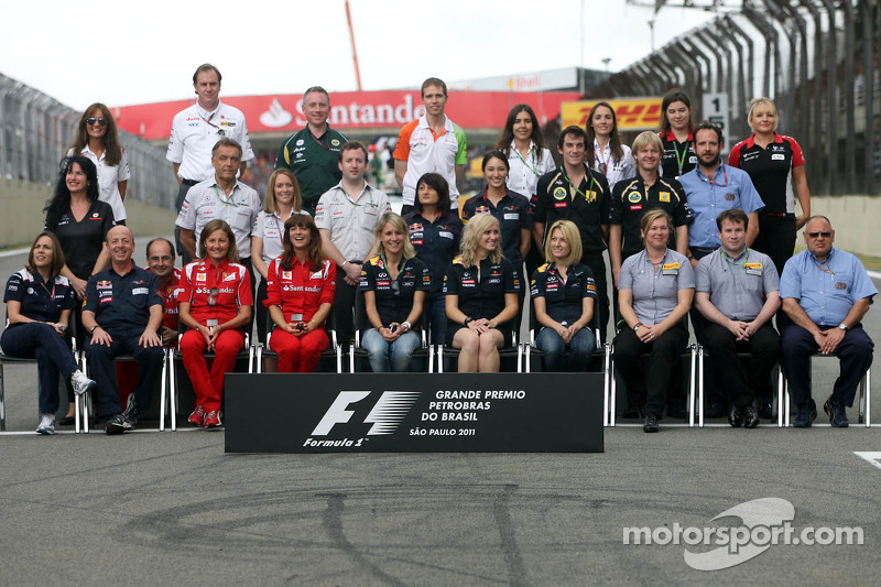 Press officers group picture