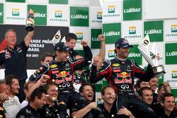 Red Bull Racing celebrates