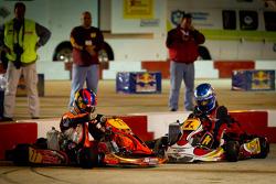 Sam Chastain and Jacob Duvall crash
