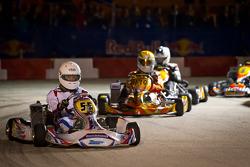 Dernière course des karts