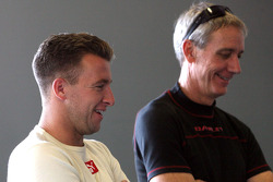 A.J. Allmendinger and John Pew
