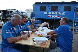 The Kamaz Master team