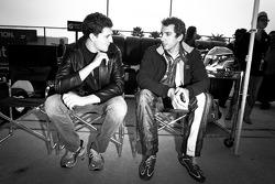Stefan Wilson and Justin Wilson