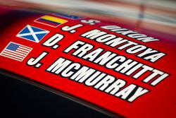 #02 Chip Ganassi Racing with Felix Sabates BMW Riley car detail