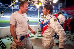 Christian Fittipaldi and Darren Law