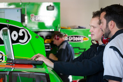 Stewart-Haas Racing Chevrolet team members at work