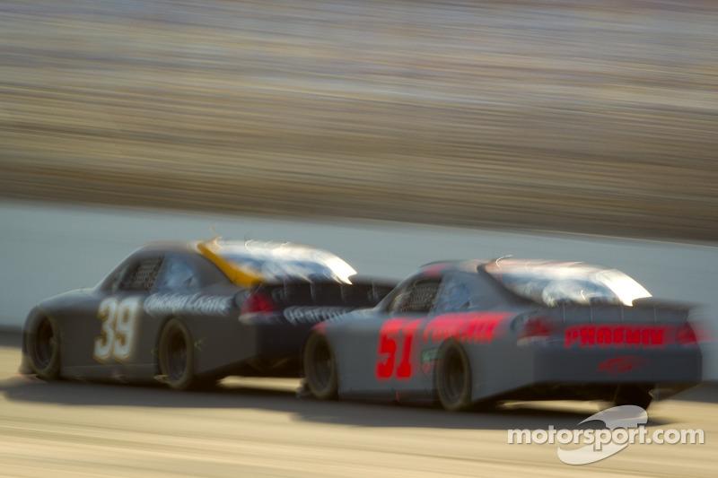 Ryan Newman, Stewart-Haas Racing Chevrolet, Kurt Busch, Phoenix Racing Chevrolet