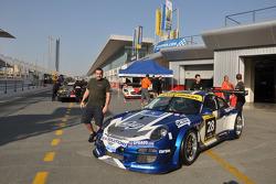 #28 Exagon Engineering Porsche 997 GT3 R: Daniel Desbrueres, Catherine Desbrueres, Christian Kelders