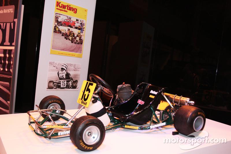 Senna Tribute Display