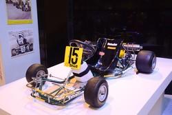 A Kart that Ayrtoon Senna raced in 1981