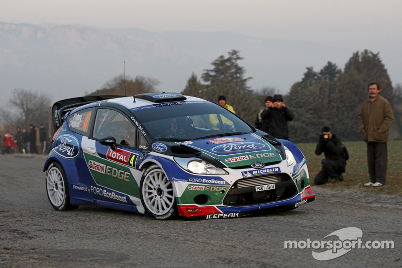 Ford Motor Company Linkedin >> Petter Solberg and Chris Patterson, Ford Fiesta RS WRC, Ford World Rally Team at Rally Monte Carlo