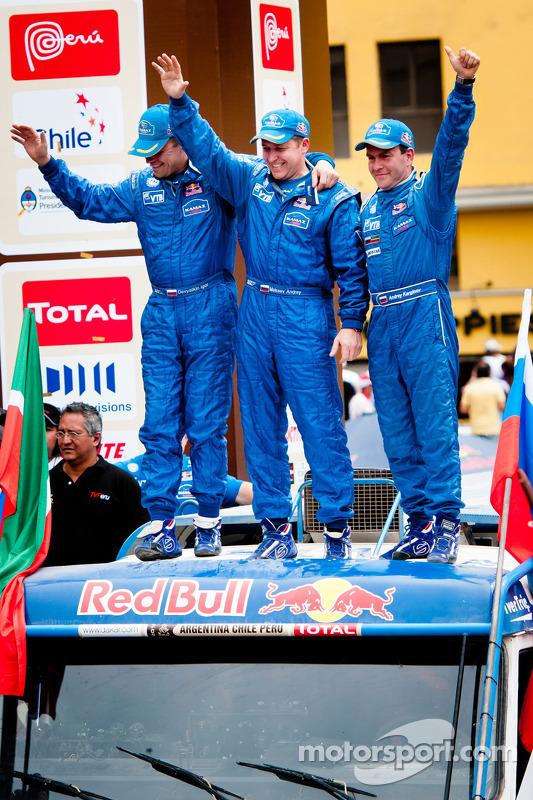 #509 Kamaz: Andrey Karginov, Andrey Mokeev, Igor Devyatkin