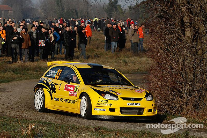 Per-Gunnar Andersson and Emil Axelsson, Proton Satria Neo S2000