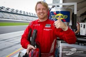 DP and overall pole winner Ryan Dalziel celebrates