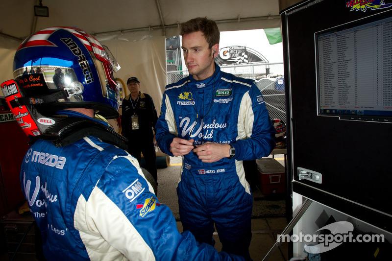 John Andretti en Anders Krohn