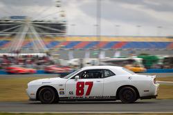 #87 Vehicle Technologies Dodge Challenger: Jan Heylen, Doug Peterson