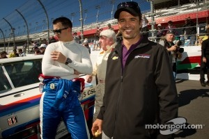 Daytona 24 Heritage cars photoshoot: Graham Rahal and Christian Fittipaldi