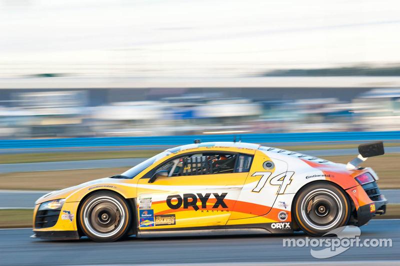 #74 Oryx Racing Audi R8 Grand-Am: Humaid Al Masaood, Saeed Al Mehairi, Steven Kane