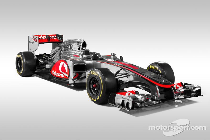 2012: McLaren-Mercedes MP4-27