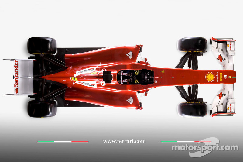 The new Ferrari F2012