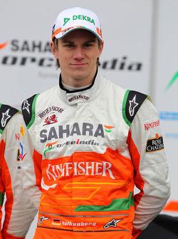 Нико Хюлькенберг. Презентация Sahara Force India VJM05, Презентация.
