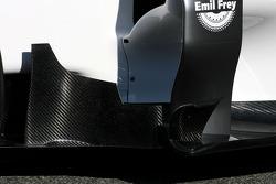 Technical detay body work - Sauber C31 Ferrari Launch
