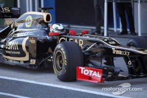 Raikkonen only had two days of testing for his F1 return