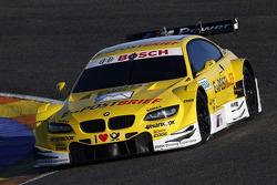 BMW M3 DTM Testing