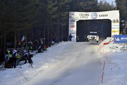 Andreas Mikkelsen en Ola Floene, Skoda Fabia S2000, Volkswagen Motorsport