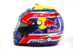 Casque de Mark Webber, Red Bull Racing